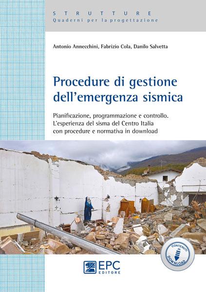 libro Procedure di gestione dell'emergenza sismica