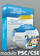 Software progetto sicurezza cantieri modulo psc epc for Progetto software