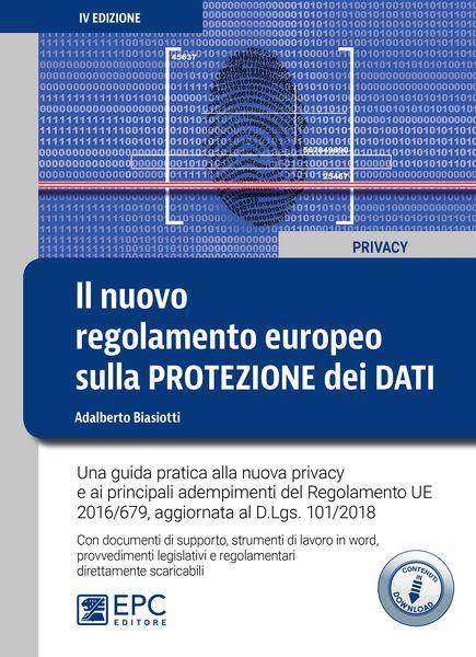 libro regolamento europeo protezione dati